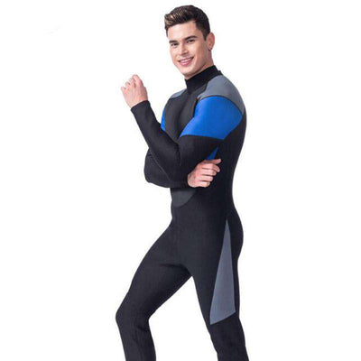 LIFURIOUS Men's 3mm Full Body Wetsuit Long Sleeve Scuba Surf Suit