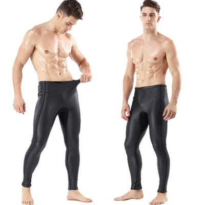 MYLEDI 2MM Mens Smooth Skin Neoprene Wetsuit Pants