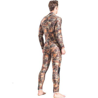 Men's 3MM Full Camo Wetsuit with Smooth Skin Front Chest