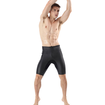 Men's 2MM Smooth Skin CR Diving Surfing Wetsuit Shorts