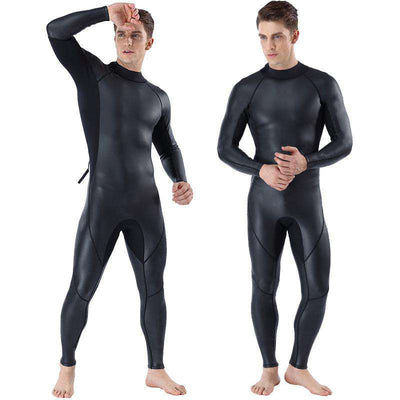MYLEDI Mens 3MM Full Body Wetsuit Smoothskin Freedive Suit