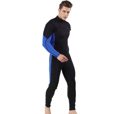 MYLEDI Mens 3mm Chest Zip Full Length Wetsuit