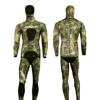 HISEA 7mm Spearfishing Reef Camo Wetsuit Yamamoto Open Cell Free Diving Wet Suit
