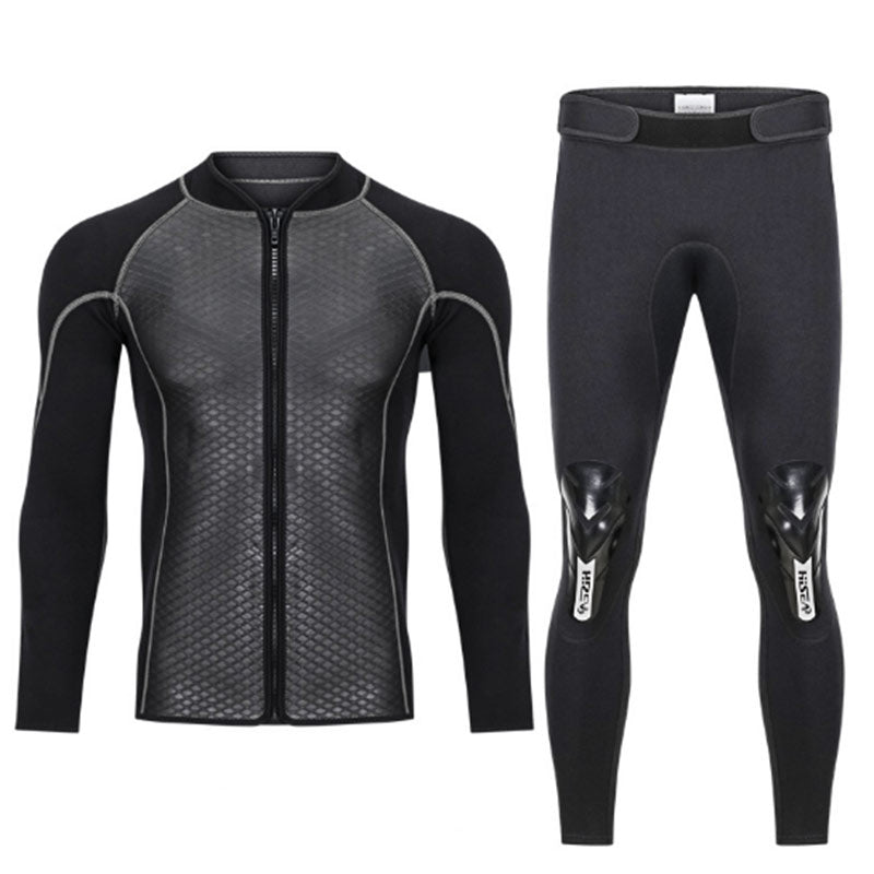 HISEA 2.5mm Shark Skin Wetsuit Jacket & Pants