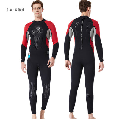 DIVE & SAIL Mens 3MM Closed Cell Scuba Full Wetsuit