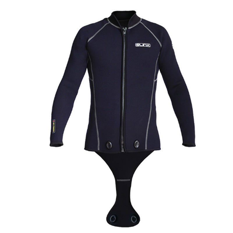 SLINX 3MM Scuba Diving Beavertail Wetsuit Jacket