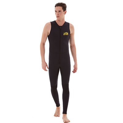 DIVESTAR 3MM Sleeveless Farmer Long John Wetsuit