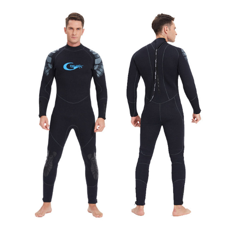 Yon Sub 5mm Mens Winter Full Body Wetsuit