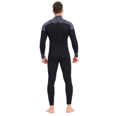 Yon Sub 3mm Mens Long Sleeve Back Zip Full Wetsuit
