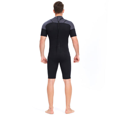Yon Sub 3mm Mens Back Zip Shorty Summer Wetsuit