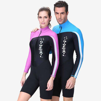 Long Sleeve One Piece Diving Surfing Springsuit Wetsuit