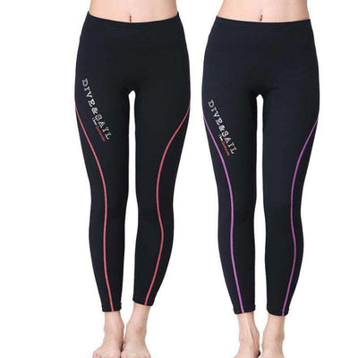 Dive & Sail 1.5MM Neoprene Diving Surfing Wetsuit Pants for Men and Ladies
