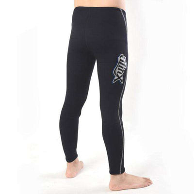 Unisex 3mm Towel-lined Wetsuit Pants for Men Women