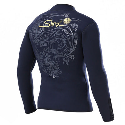 Zippered Cuff 5MM Wetsuit Jacket for Men Women
