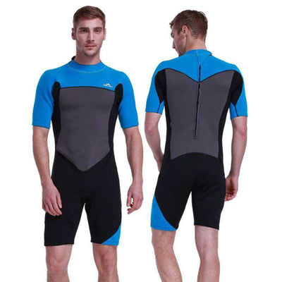 Short Sleeve Full Body Shorty 2mm Diving Wetsuit