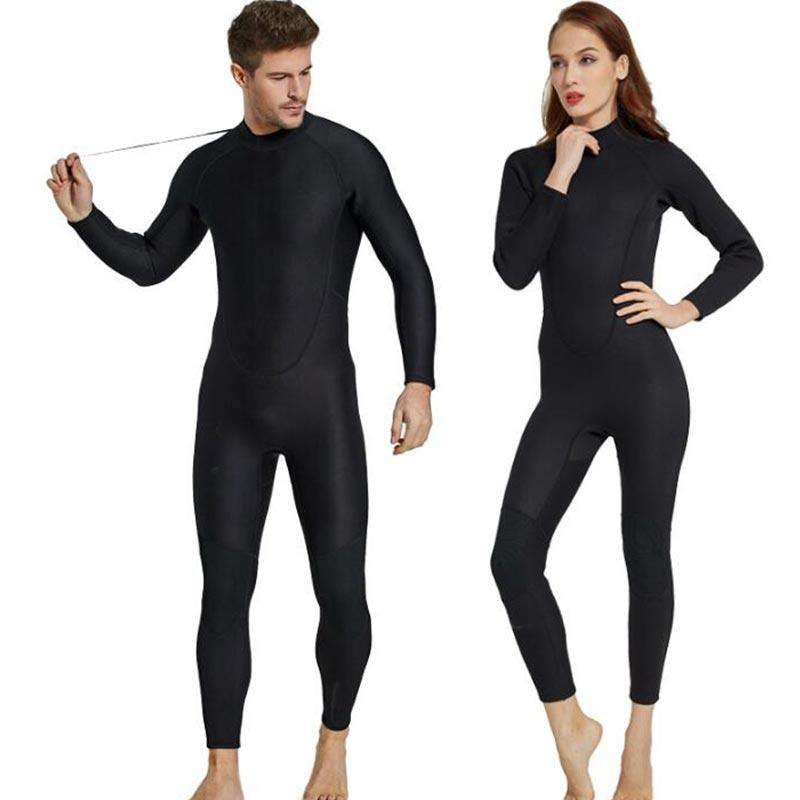 Sbart Full Length 2MM Windsurfing Diving Suit Long Sleeve Wetsuit