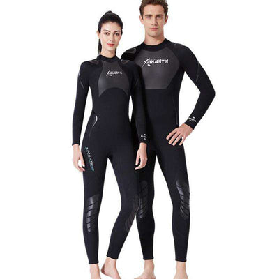 Dive & Sail 3mm Mens Womens Full Body Shark Skin Wetsuit