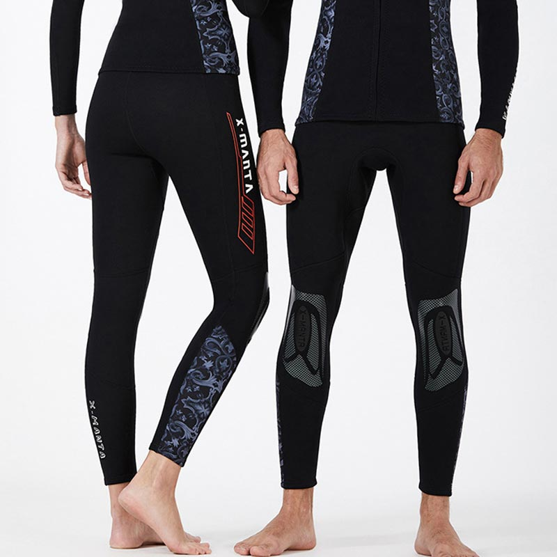 DIVE & SAIL 1.5mm Blue & White Porcelain Wetsuit Pants