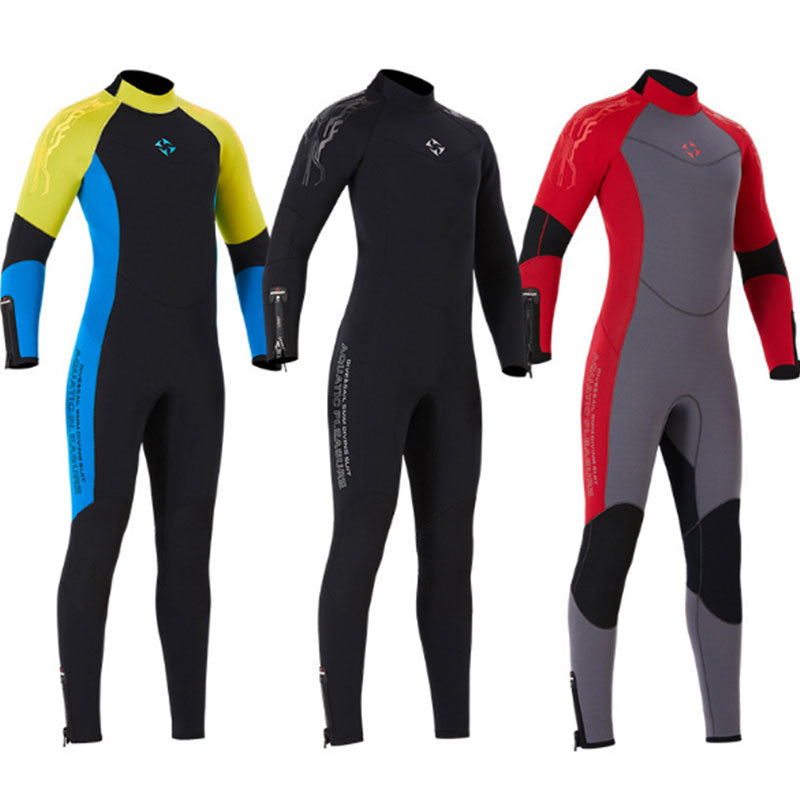 DIVE & SAIL 5MM Suede Lining Full Wetsuit for Men Women
