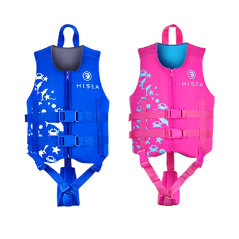 HISEA Boys Girls Swimming Float Vest Life Jacket