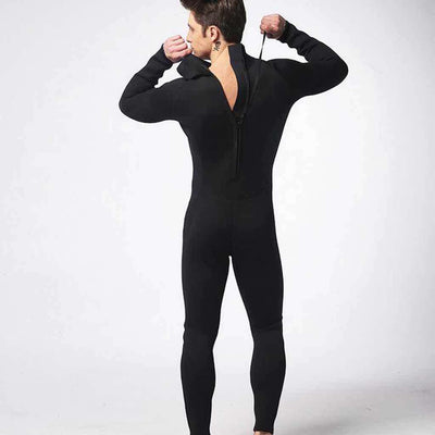 Scuba Diving Men's 3mm Fullsuit Wetsuit Closed Cell with Back Zip