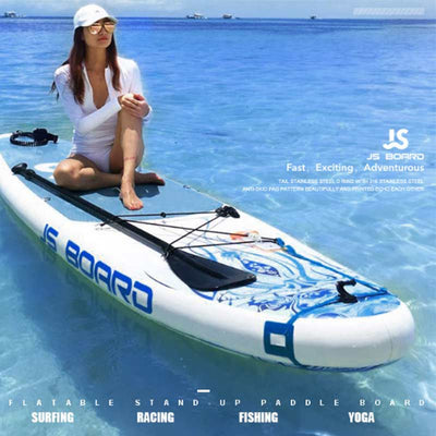 JS Jellyfish 11' 2 Person Single Fin Inflatable SUP Board