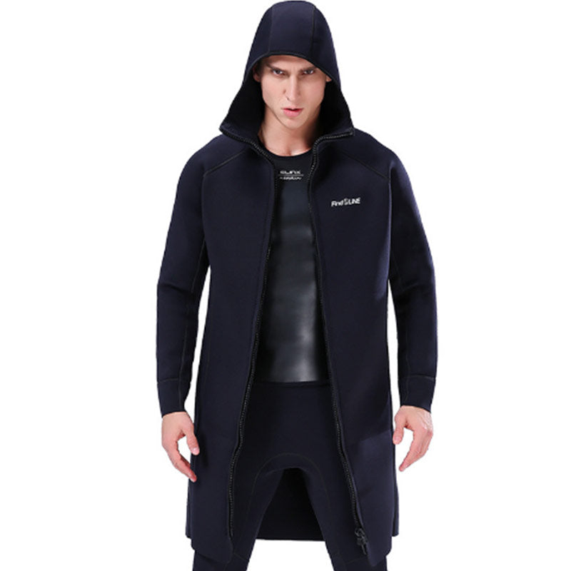 SLINX 3mm Hooded Windbreaker Wetsuit Overcoat