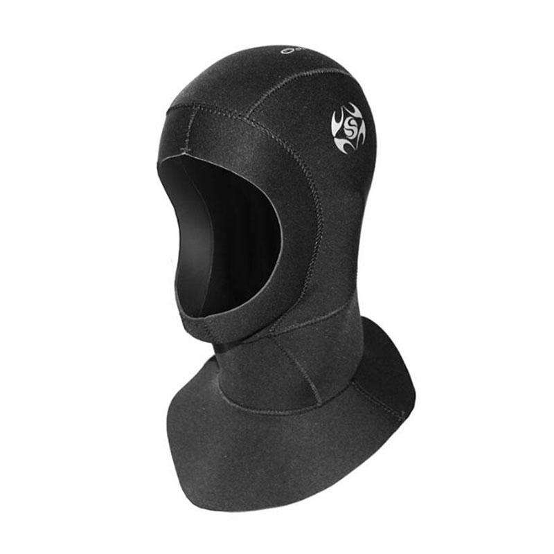 SLINX Adults 3mm Neoprene Wetsuit Hood for Scuba Diving Snorkeling