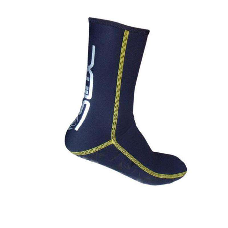 SLINX 3mm Adults Warm Neoprene Wetsuit Fin Socks for Scuba Diving Snorkeling