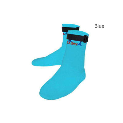Dive & Sail 3MM Neoprene Water Beach Wetsuit Socks for Surfing Snorkeling