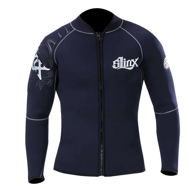 SLINX 5MM Plus Size Unisex Neoprene Wetsuit Jacket