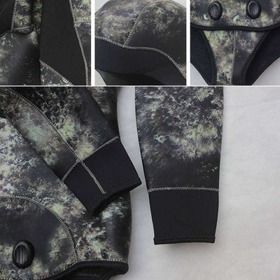 Men's 2pc 5mm Diving Surfing Suits