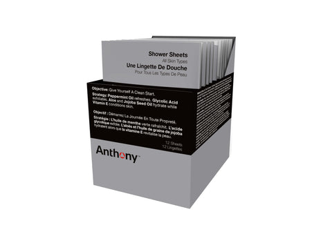 Anthony Shower Sheets Grooming- CITYBOYZ★USA
