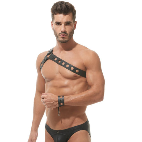 Gregg Homme Fetish Charnel Chest Harness Fetish & Novelty- CITYBOYZ★USA