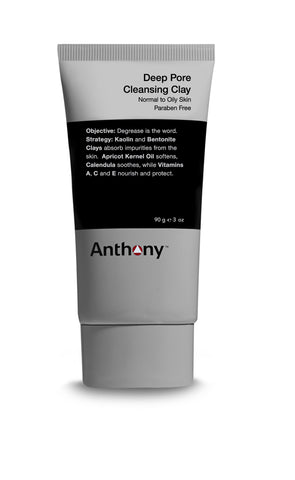 Anthony Deep Pore Cleansing Clay Grooming- CITYBOYZ★USA