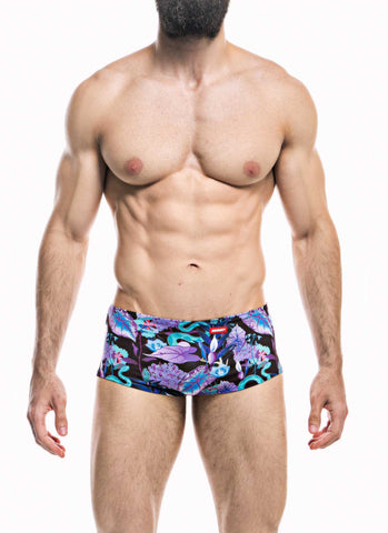 HUNK2 Natter² Reversible Swim Trunk Swimwear- CITYBOYZ★USA