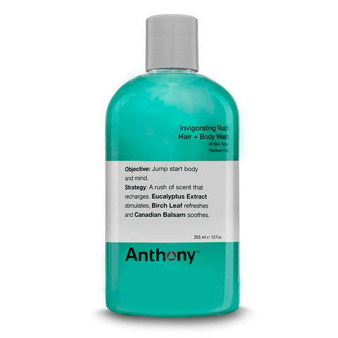 Anthony Invigorating Rush Hair & Body Wash Grooming- CITYBOYZ★USA