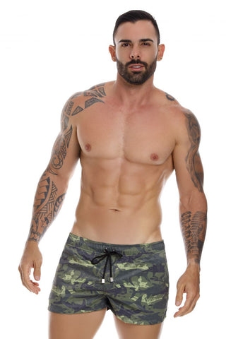 Jor Shark Swim Trunk 1052 Swimwear- CITYBOYZ★USA