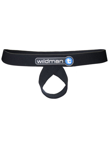 WildmanT Lift Loop Support Jock Black Ball Lifter- CITYBOYZ★USA