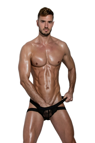 Jack Adams Sheer Push Up Jock Brief - CITYBOYZ★USA