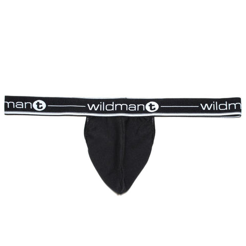 WildmanT Big Boy Pouch Strapless Jock Black Jockstrap- CITYBOYZ★USA