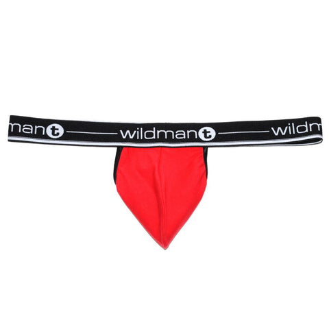 WildmanT Big Boy Pouch Strapless Jock Red Jockstrap- CITYBOYZ★USA