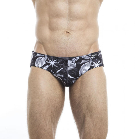 HUNK2 Einfarbig² Reversible Swim Brief Swimwear- CITYBOYZ★USA