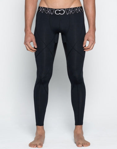 BLK AKTIV Compression Tights Athleticwear- CITYBOYZ★USA