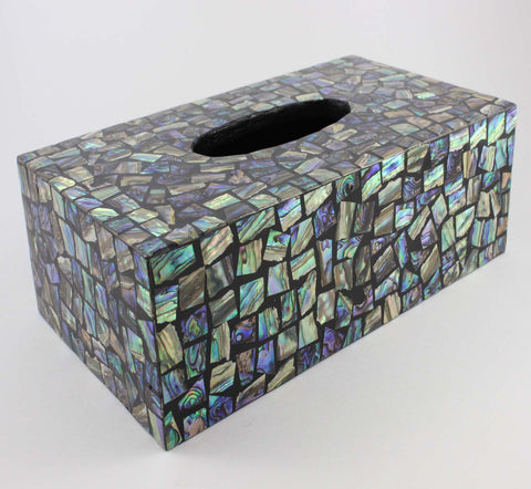 Sea Green Tissue Box - Cascara Interiors