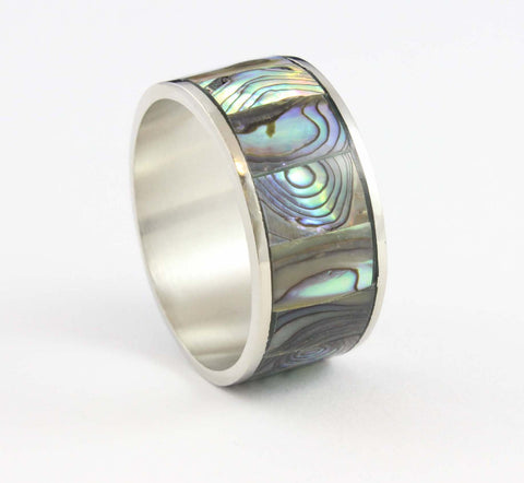 Small Abalone Napkin Ring