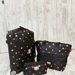 Multicoloured Dots Pre-Packed Maternity Hospital Bags