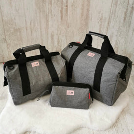 Silver Weave Bag Sets
