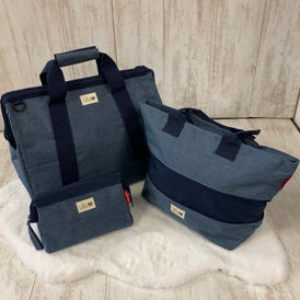 Blue Weave Pre-Packed Maternity Hospital Bags