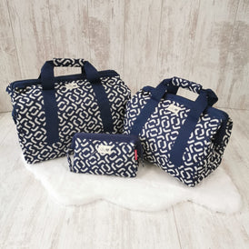 Navy Lynx Pre-Packed Maternity Hospital Bags
